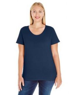 LAT Ladies' Curvy Premium Jersey T-Shirt