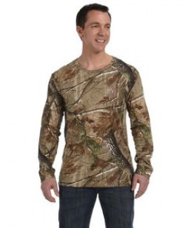 CODE V Men's Realtree® Long-Sleeve Camo T-Shirt