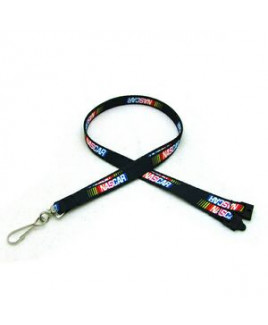 "3/8"" Digitally Sublimated Lanyard w/ Sew on Breakaway"