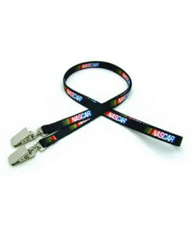 """3/8"""" Digitally Sublimated Lanyard w/ Double Standard Attachment"""