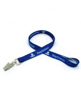 "5/8"" Digitally Sublimated Lanyard w/ Bulldog Clip"