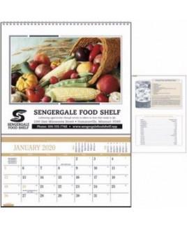 "Triumph® Recipe Pocket Calendar (10""x14"")"
