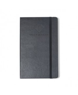 Moleskine® Hard Cover Ruled Large Notebook Black