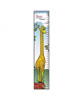 BIC Graphic® Giraffe Growth Chart