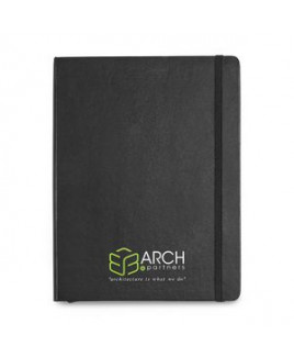 Moleskine® Hard Cover Ruled X-Large Notebook Black