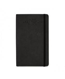 Moleskine® Soft Cover Squared Large Notebook - Black