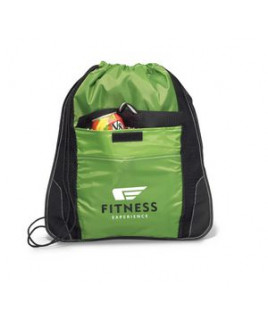 Elite Sport Cinchpack with Insulated Pocket Green