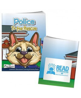 BIC Graphic® Color Book w/Mask: Police to the Rescue