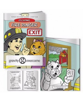 BIC Graphic® Coloring Book: Escaping Fire Danger