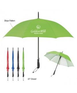 """46"""" Arc Stripe Accent Panel Umbrella"""