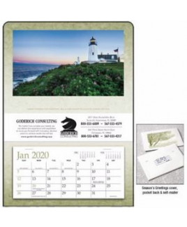 Triumph® Single Pocket Calendar