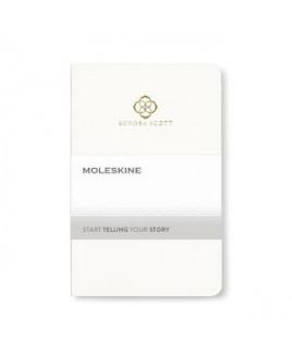 Moleskine® Volant Ruled Pocket Journal - White