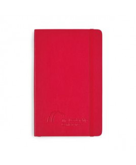 Moleskine® Soft Cover Ruled Large Notebook - Scarlet Red