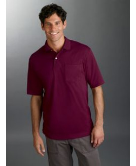 Jerzees® Adult 5.6 Oz. SpotShield™ Pocket Jersey Polo Shirt
