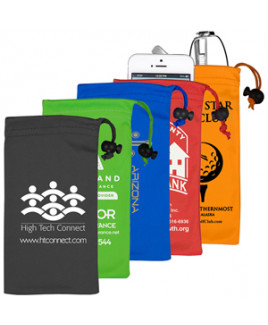 """""""Clean-n-Carry"""" Drawstring Pouch for Cell Phones & More (Overseas)"""