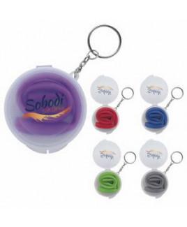 Good Value® Delight Silicone Straw in Box w/Keychain