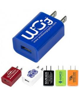 """""""Hamburg"""" UL® Listed USB Wall Charger & AC Adaptor (Overseas)"""