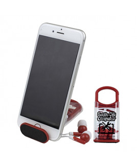 """""""ExCell"""" Earbud Set & Phone Stand"""