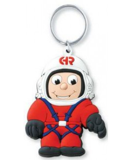 """3D Front Rubber Softies Key Tags - 3"""""""