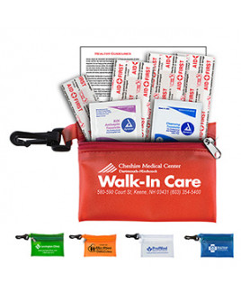 """""""Parkway"""" 7 Piece Healthy Living Pack w/Plastic Carabiner Attachment"""