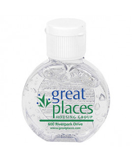 """CirPal"" 1 Oz. Compact Hand Sanitizer Antibacterial Gel - Spot Color Direct"