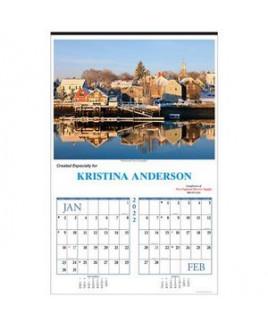 New England Executive Calendar (Six-Sheet)