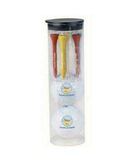 Par Pack w/ 2 Balls-N-Tees - Wilson® Ultra 500 Golf Ball