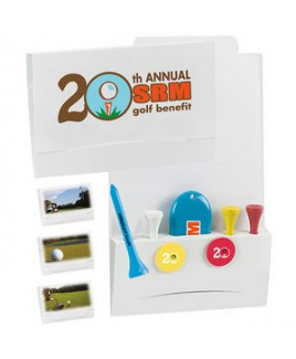 """BIC Graphic® 4-2-1 Golf Tee Packet w/2 1/8"""" Tees"""