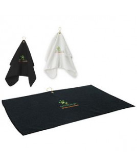 BIC Graphic® Golf Waffle Towel (Embroidered)