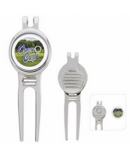 GoodValue® Golfer's Divot Tool with Ball Marker