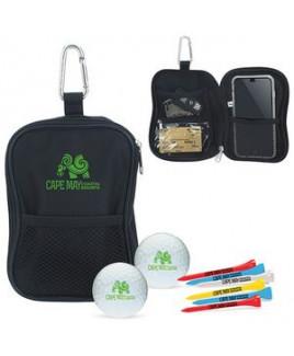 Valuables Pouch Golf Kit w/ Callaway® Warbird 2.0 Golf Balls