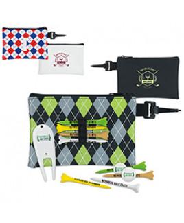 """Pattern Golf Pouch Tee Kit (2 3/4"""" Tee Value Pak)"""