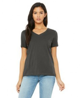 Color Image Apparel - Bella Ladies' Relaxed Jersey V-Neck T-Shirt