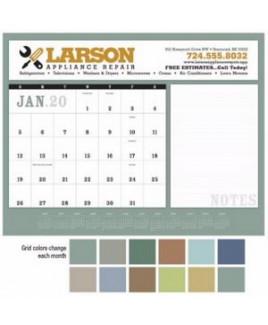 Triumph® Notes Desk Pad Calendar