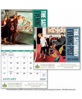 Good Value® The Saturday Evening Post Spiral Calendar