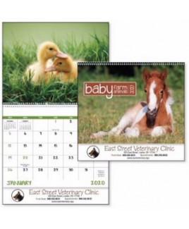 Good Value® Baby Farm Animals Calendar (Spiral)