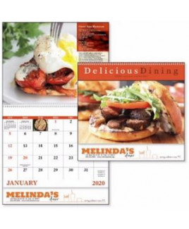 Good Value™ Delicious Dining Calendar (Spiral)