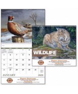 Good Value® Wildlife Canvas Calendar (Spiral)