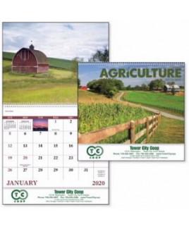 Good Value® Agriculture Spiral Calendar