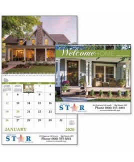 Good Value® Welcome Home Calendar (Spiral)