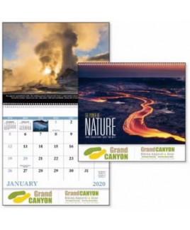 Good Value® The Power of Nature Spiral Calendar