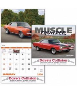 Good Value® Muscle Thunder Stapled Calendar