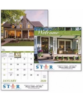 Good Value® Welcome Home Calendar (Stapled)