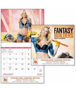 Good Value® Fantasy Builders Stapled Calendar