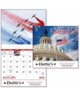 Good Value® Celebrate America Calendar (Stapled)