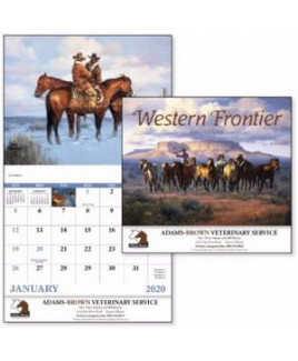 Good Value® Western Frontier Calendar (Stapled)