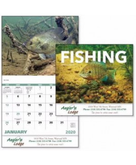 Good Value® Fishing Calendar (Stapled)