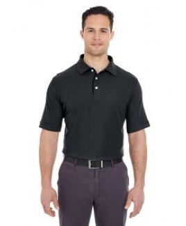 UltraClub® Men's Platinum Honeycomb Piqué Polo Shirt