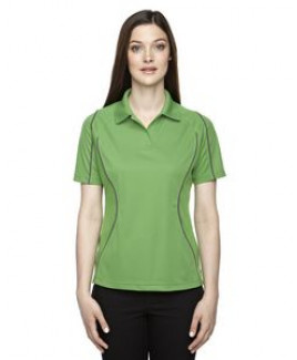 EXTREME Ladies' Eperformance? Velocity Snag Protection Colorblock Polo with Piping