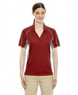 Extreme® Ladies' Eperformance™ Parallel Snag Protection Polo Shirt w/Piping